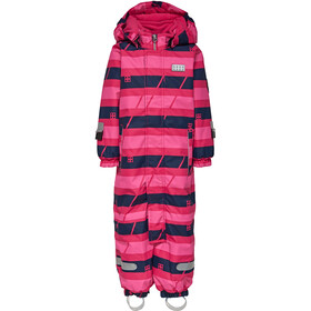 LEGO wear Johan 778 Snowsuit Unisex dark pink
